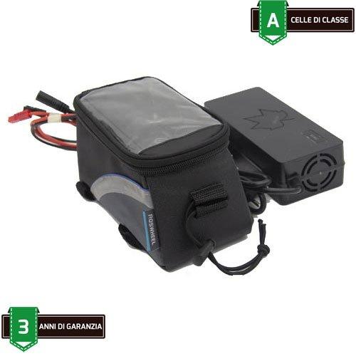 Batteria Borsello bici elettrica 36V 14.5Ah 522Wh Kit Ebike