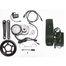Kit bici elettrica motore centrale CON batteria 36V 250W 100Nm